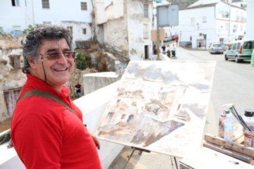 Pedro Lobato Hoyos. Foto: Pintores de Ubrique.