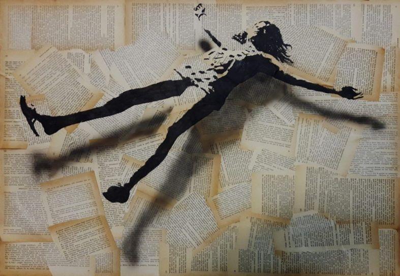 'Over the Truth'. Obra de Moises Hergueta.