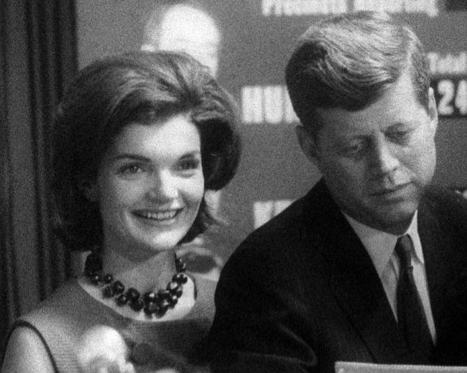 Los Kennedy, en una escena de 'Primary (1960)'.