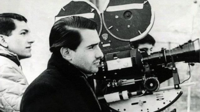 Martin Scorsese durante el rodaje de '¿Quién llama a mi puerta?'.