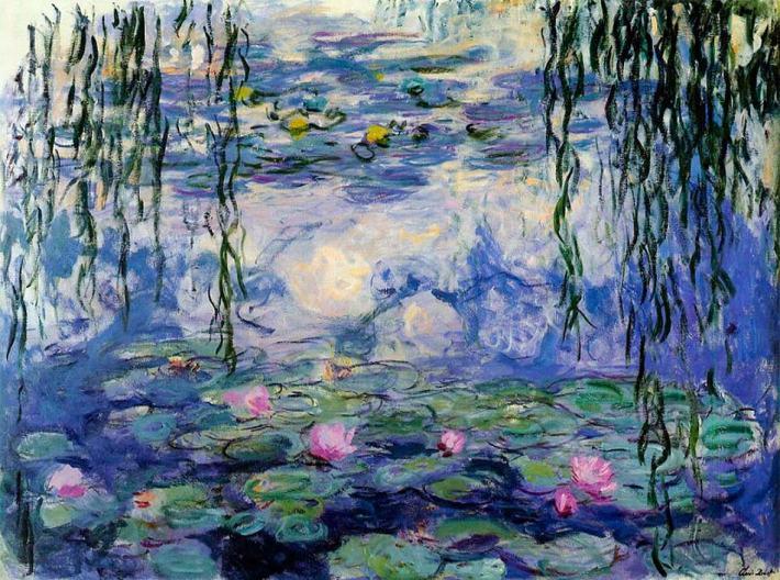 Nenúfares de Claude Monet.