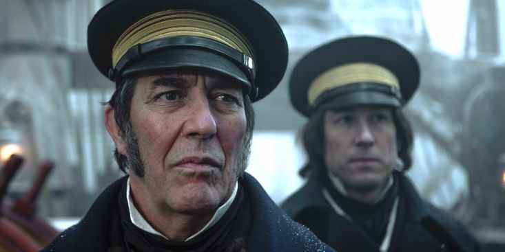 Ciaran Hinds y Tobias Menzies en 'The-Terror'
