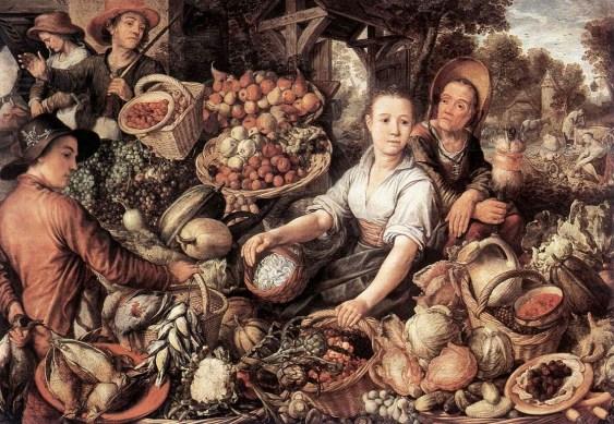 'Mercado de verduras' de Joachim Beuckelaer.