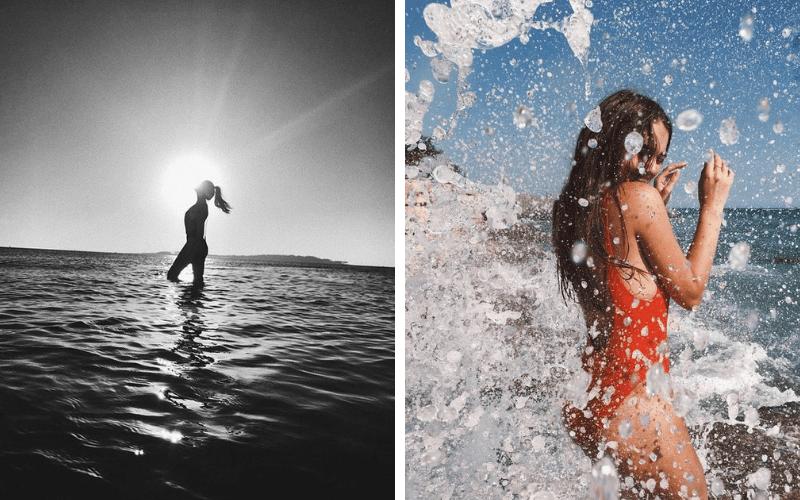 Ideias de fotos na praia - fotos tumblr beach - inspiracao praia - photos - photography mar