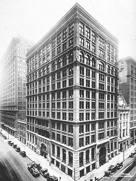 Home Insurance Building en Chicago