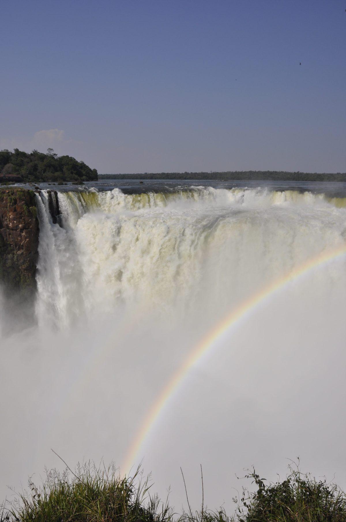 J+18 Goûter à l'eau des chutes d'Iguaçu !