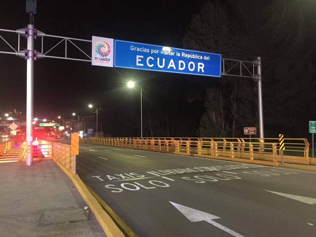 J+100 La frontière colombienne à pied !