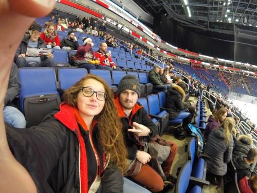J+137 Assister à un match de hockey !