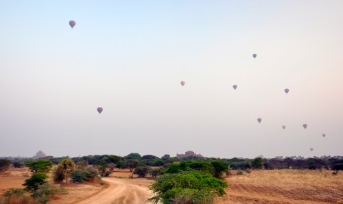 J+200 L'envol de montgolfières…!