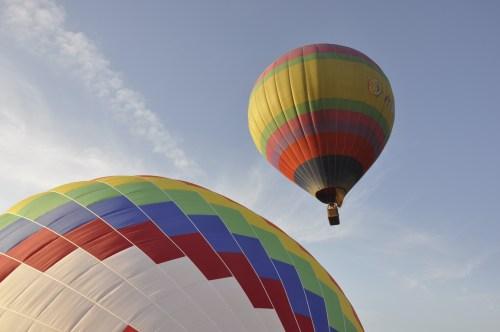 J+224 Un vol en montgolfière !