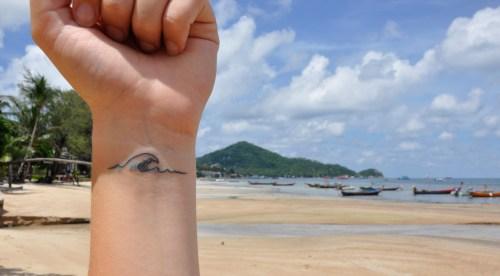 J+264 Un tatouage au bambou !