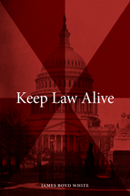 Keep Law Alive book jacket