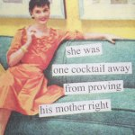 Anne Taintor napkins, coasters, magnets, capability mom loves them all