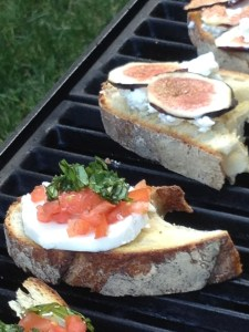 bruschetta on the grill - capabilitymom blog