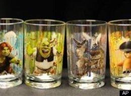 recall of mcdonalds shrek glasses