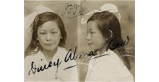 Daisy as she appears in Australian immigration files in 1917. Source: National Archives of Australia, SP244/2, N1950/2/3885.