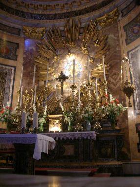 Santa Maria della Vittoria, autel