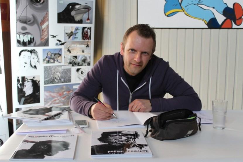 Olivier Dekeyser à CAP Bulles