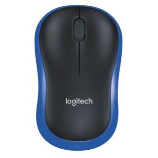 LOGITECH - souris sans fil optique - M185 Bleu