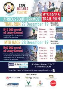 cape agulhas mtb 2019 bike race trail run flyer