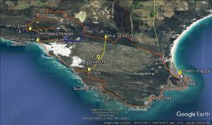 63km MTB Race Route