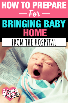 Preparing For Baby: How To Survive The Infamous First Night Home