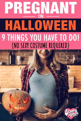 Halloween while pregnant