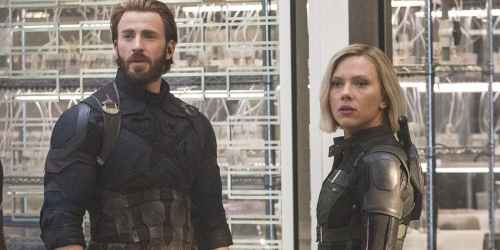 Chris-Evans-Scarlett-Johansson-Avengers-Infinity-War-Set-Interview