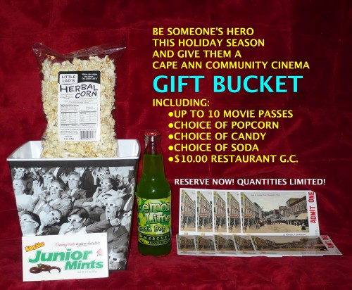 Gift Buckets are now available in 5-ticket and 10-ticket versions. Reserve yours below!