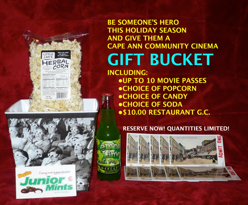 Gift Buckets in 5-ticket and 10-ticket versions are available now - reserve by clicking below!