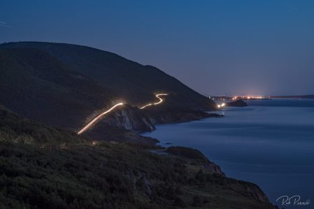 Cape Breton at Night