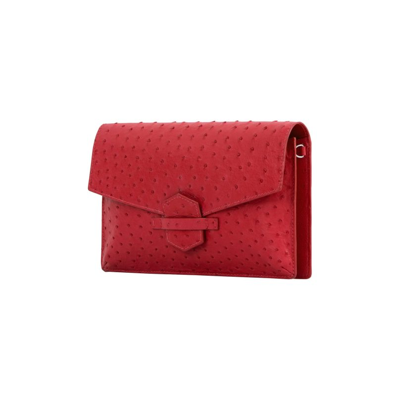 Ivy in Rouge Ostrich 2