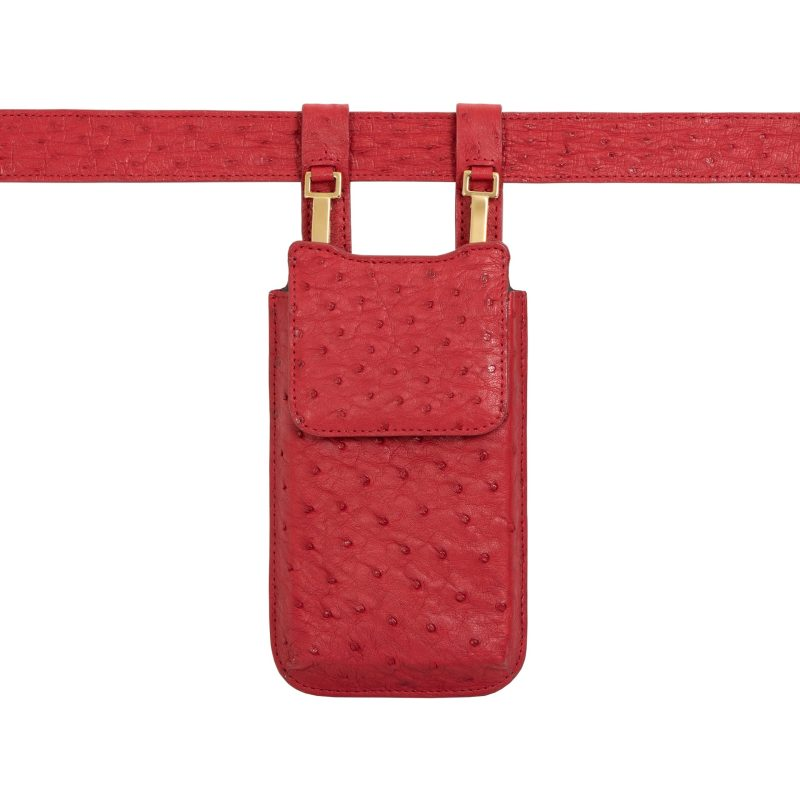 Bebe in Rouge Ostrich 1