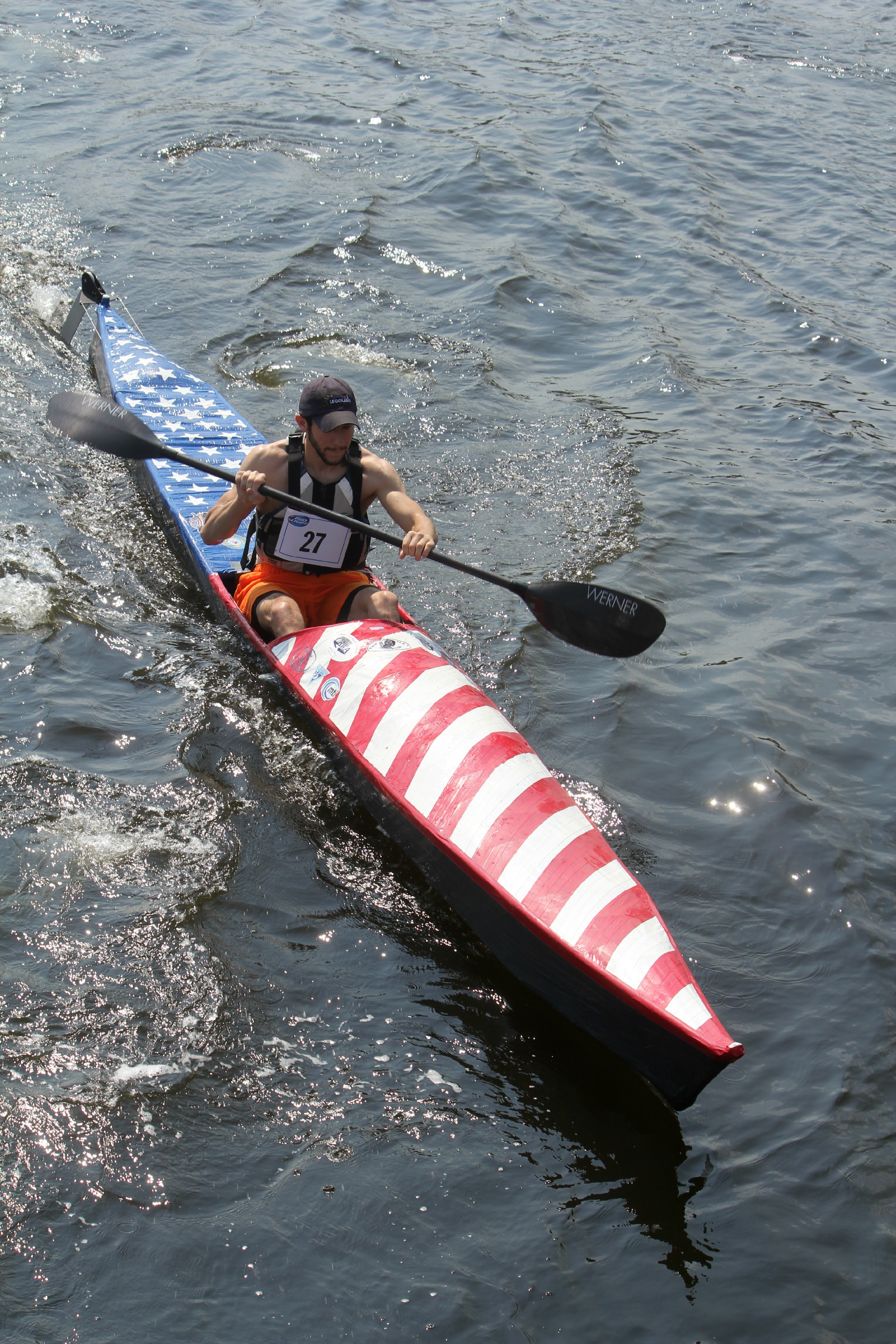 We Are So Pleased That Alex Russo Will Be Exhibiting His Duct Tape Kayak At The Cape Cod Mini Maker Faire Inspired By An Episode Of TV Show Mythbusters