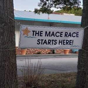 Mace Race start banner