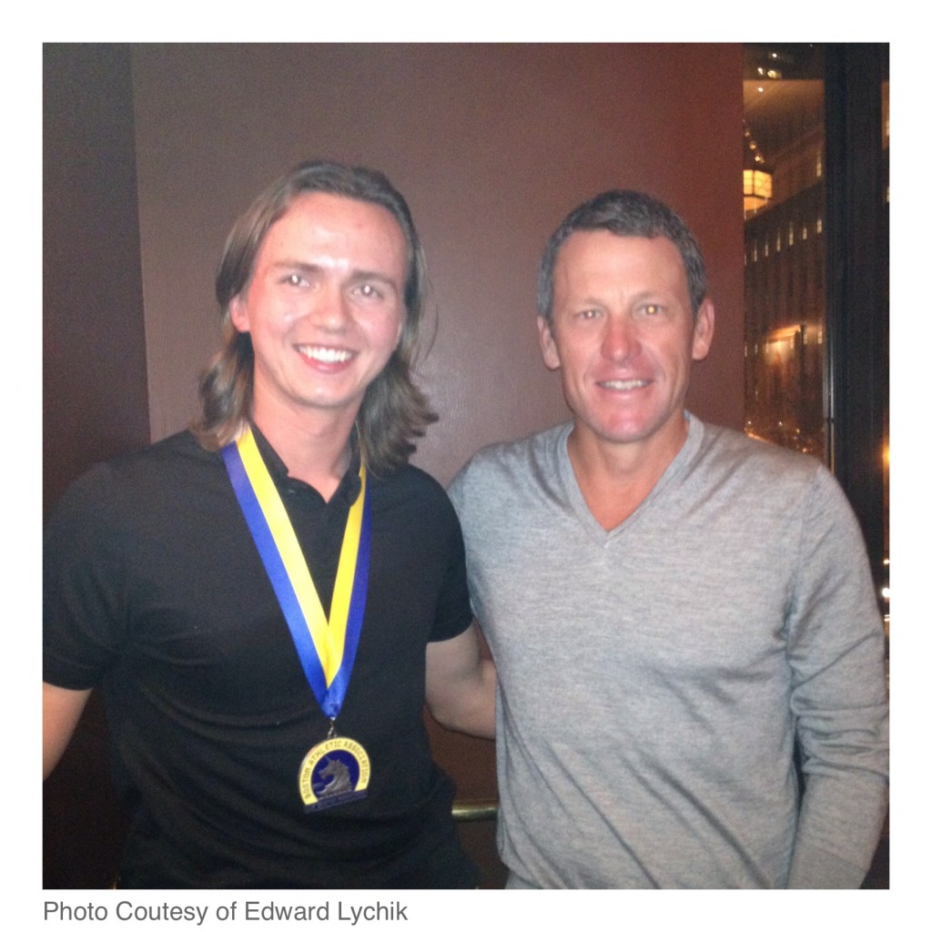 Eddy & Lance Armstrong
