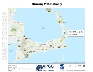 Cape Cod Drinking Water Quality 2020