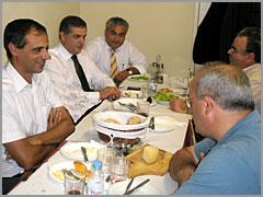 Luís Carloto Marques, Jorge Seguro, José Carlos Lages, José Morgado e Luís Antunes