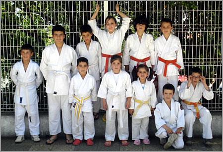 Judocas Sabugalenses no Torneio de Castelo Branco