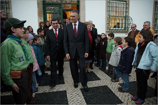 Cavaco Silva em Penamacor