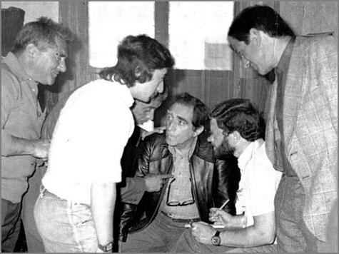 Óscar Acúrcio no Sabugal - 1977