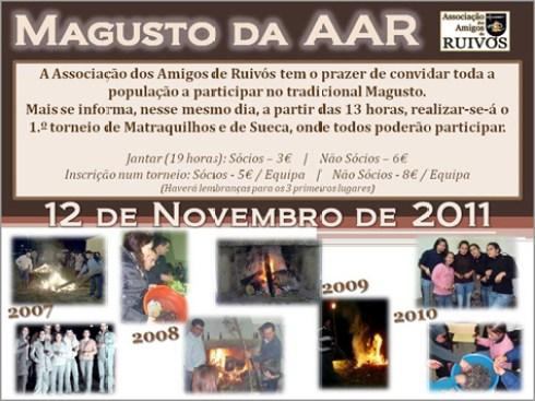 Magusto de São Martinho - AAR-Associação dos Amigos de Ruivós