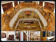 Aspecto do Centro Cultural Casapiano, em Belém (Museu, Arquivo, Biblioteca, Auditório, etc.)