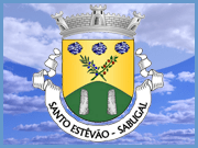 Brasão Freguesia Santo Estêvão - Sabugal - Capeia Arraiana (orelha)