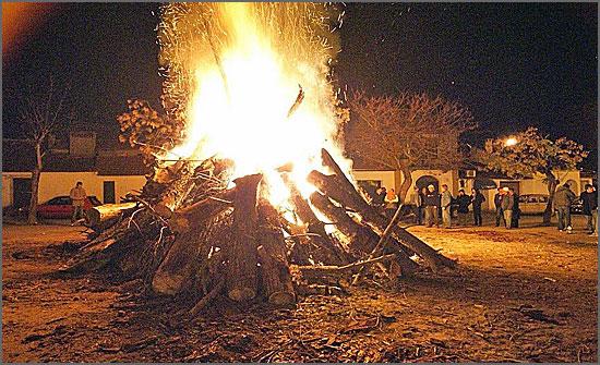 A fogueira de Natal