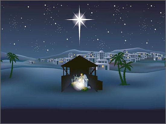 A estrela do Natal