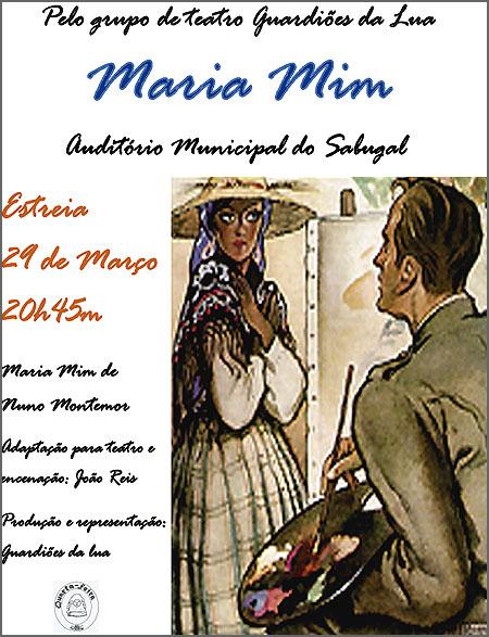 Maria Mim em versão teatral