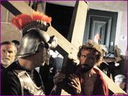 Recriação da Paixão de Cristo - Jesus a caminho do Calvário - Capeia Arraiana