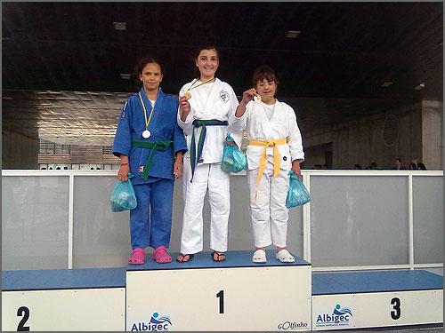 Os pequenos judocas conseguiram medalhas em Castelo Branco