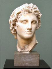 Alexandre Magno. Busto romano do séc. I a.C. - Capeia Arraiana